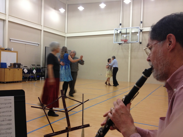 Dean on clarinet.